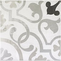 Décor Linked Porcelain Wall and Floor Tile - 7.5 x 7.5 in