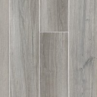 Pier Silver Porcelain Wood-Look Wall and Floor Tile - 6 x 35 in