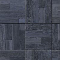 Patchwood Deep Ocean Porcelain Wood Look Wall and Floor Tile - 8 x 8 in