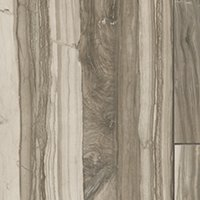 Dexwood Brown Polished Porcelain Wood-Look Wall and Floor Tile - 17 x 35 in