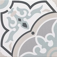 Decor Urban Alba Pav Ceramic Wall and Floor Tile - 8 x 8 in