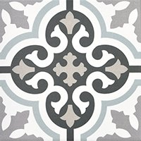 Decor Urban Calipso Pav Porcelain Wall and Floor Tile - 8 x 8 in