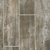 Sligo Mocca Porcelain Wood-Look Wall and Floor Tile - 6 x 35 in