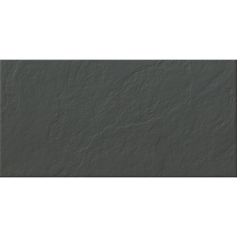 Burma Negro Porcelain Floor Tile - 12 x 24 in.