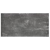 Virgo Negro Porcelain Floor Tile - 12 x 24 in