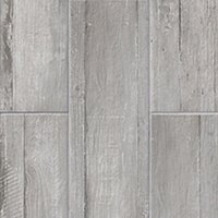 Bosse Grey Ceramic Floor Tile - 7 x 20 in