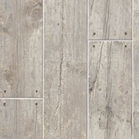 Cottage Grey Wood Look Floor Tile - 6 x 24 in.