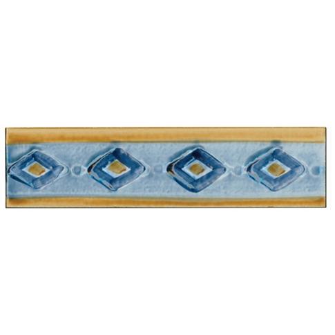 Egeum Azure Listello 2 x 8 in