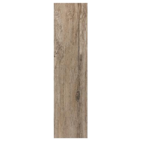 Briarwood Mocha Wood Look Floor Tile - 6 x 24 in.