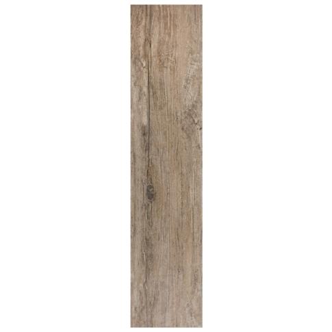 Briarwood Mocha Wood Look Floor Tile - 8 x 36 in.