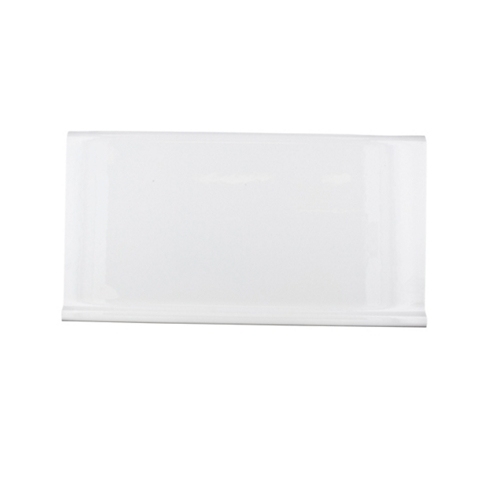 White Gloss Skirting 6.25 x 12 in