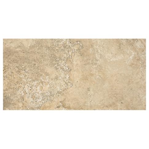 Scavo Almond Porcelain Floor Tile - 12 x 24 in.