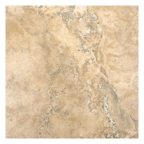 Scavo Almond Porcelain Floor Tile - 12 x 12 in.