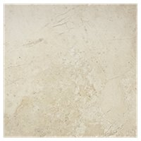 Corinto Creme Porcelain Wall and Floor Tile - 18 x 18 in