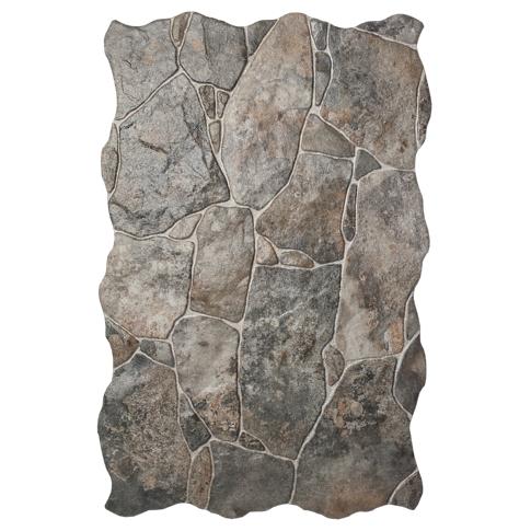 Tigris Rocks Ceramic Floor Tile - 13 x 20 in