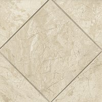 Queen Beige Polished Marble Floor Tile - 12 x 12 in.
