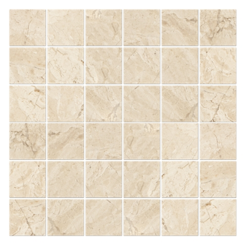Queen Beige Polished 2 x 2 in