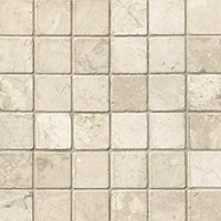 Queen Beige Tumbled 2 x 2 in