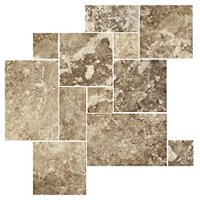 Capadocia Walnut Brushed Filled Large Versailles Pattern 16 SF