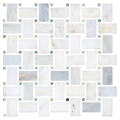 Biltmore Niles Marble Mosaic Tile - 12 x 12 in.