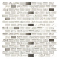 Coral Springs Mix Stone Mosaic Tile - 12 x 12 in.
